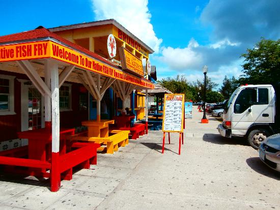 Oh andros picture of andros the fish fry nassau for Fish fry bahamas