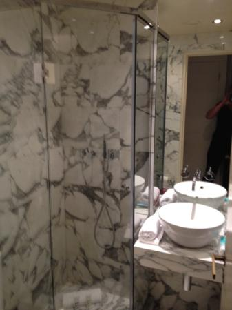 Mercure Paris Champs Elysees: la douche