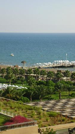 Maxx Royal Belek Golf & Spa: view from our room side sea view