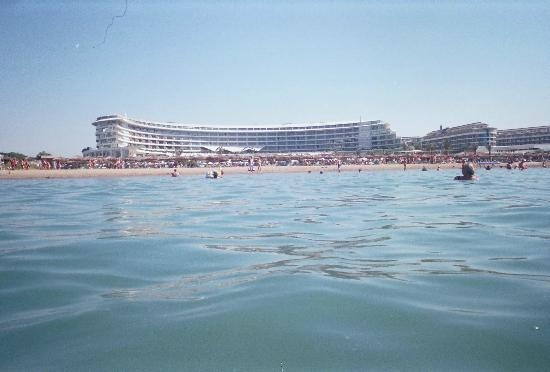 Maxx Royal Belek Golf & Spa: View of hotel from sea