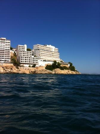 Hotel Florida: hotel from the sea