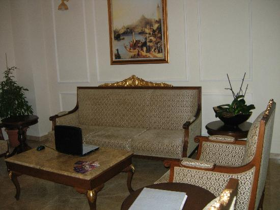Hotel Darussaade Istanbul: lobby