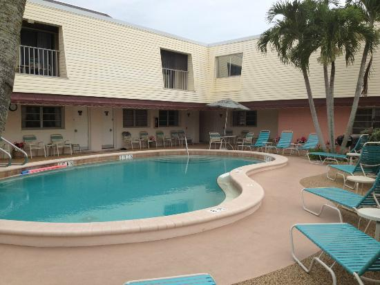 Beach Shell Inn: The retro pool
