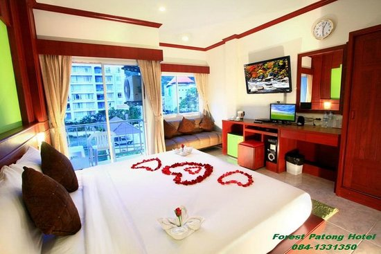 Forest Patong Hotel: Superior Room with Balcony