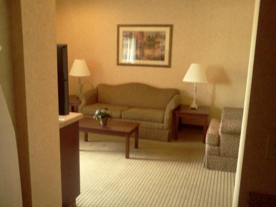 Quality Inn Valley Suites: living room