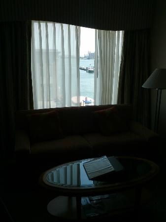 Seaport Boston Hotel: Harbour view, 6th floor
