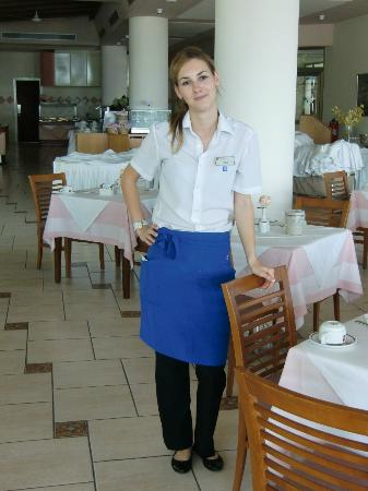 Constantinou Bros Athena Royal Beach Hotel: The lovely Adelina