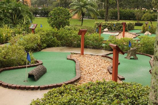 Wyndham Palm-Aire: Mini golf course