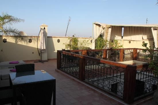Riad Chayma: Terrasse