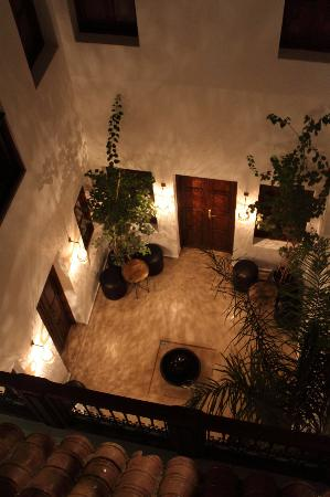 Riad Chayma: Patio