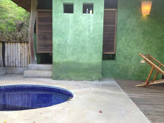 Laluna Hotel: our plunge pool