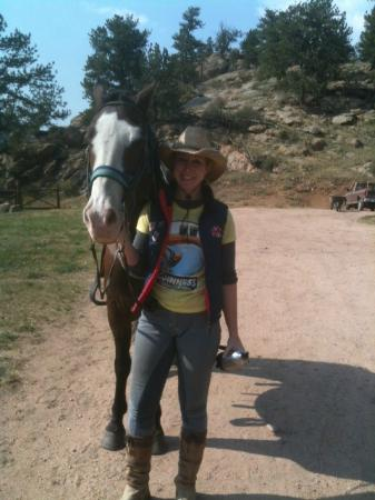 Tarryall River Ranch: Domino and me