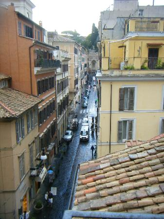 Condotti Palace: view from window