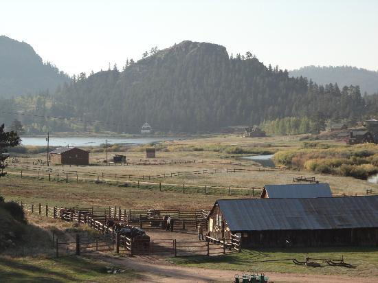 ‪‪Tarryall River Ranch‬: View form Skyline lodge