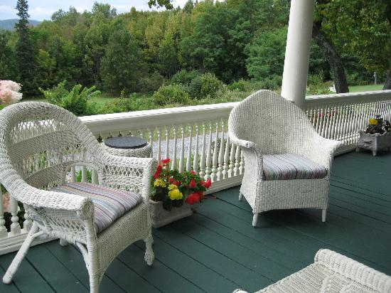 Greenville Inn at Moosehead Lake: You can sit here by me!