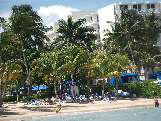 Hilton Rose Hall Resort & Spa: View from the sea