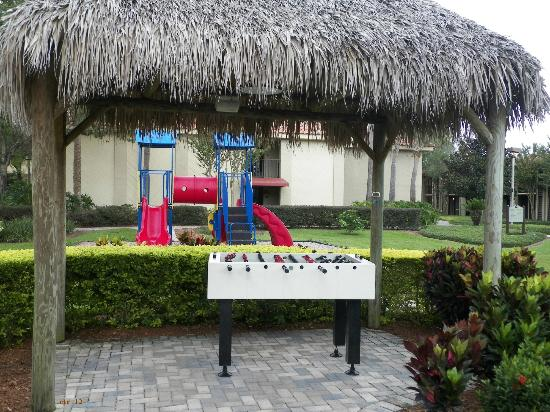 Doubletree by Hilton Orlando at SeaWorld: Foosball and Playground