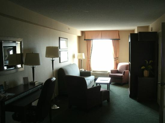 Fairfield Inn & Suites Toronto Airport: Living Room