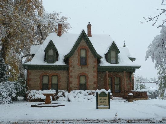 Winter Avery House Picture Of Avery House Fort Collins