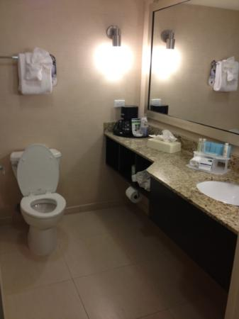 Holiday Inn Express Baltimore - BWI Airport West: bathroom
