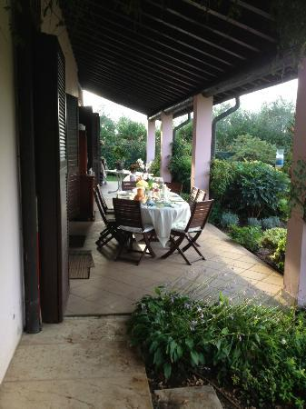 Bed and Breakfast Villa Beatrice: DESAYUNO