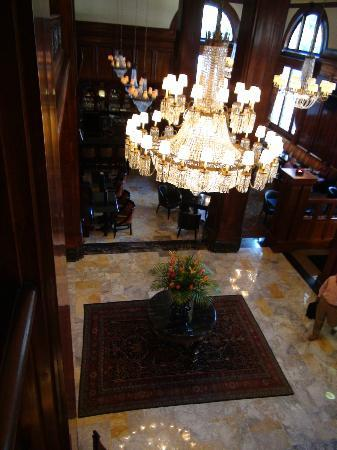 Benson Hotel: Lovely lobby!