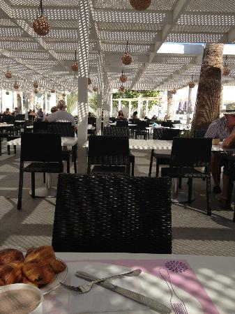 Palm Beach Club Djerba: Terrasse