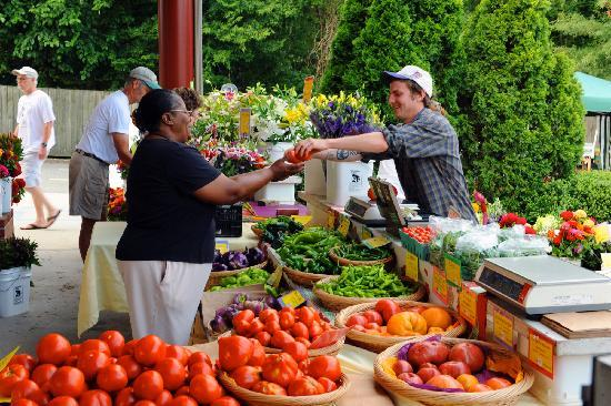 Chapel Hill, NC: Carrboro Farmers' Market is open year round on Saturdays