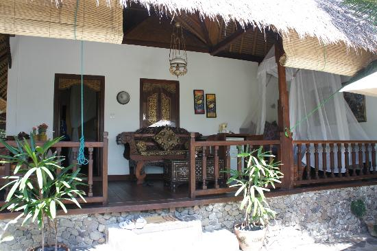 Puri Mas Boutique Resort & Spa: Our terrace
