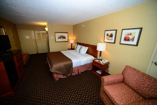 Holiday Inn Lincoln - Downtown: King bedroom
