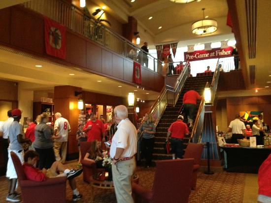 The Blackwell: Lobby on Game Day