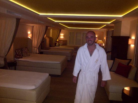 Hotel Bareiss: Dont forget to get to this part of the SPA - great beds