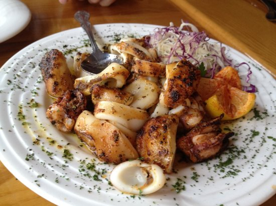 Grilled Calamari Recipes — Dishmaps