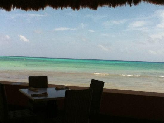 The Royal Haciendas All Inclusive: LA PALAPA DEL SOL RIGHT ON THE BEACH