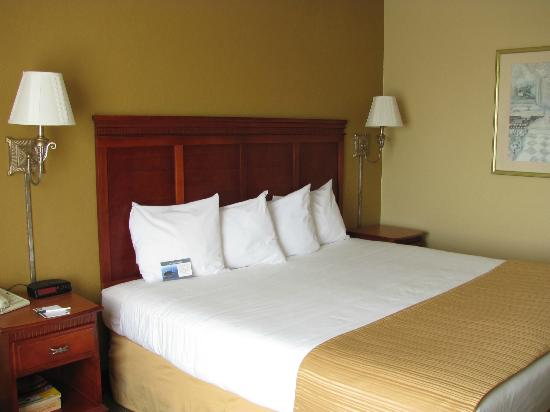 Quality Inn and Suites: Updated King Room - Renovations in Progress