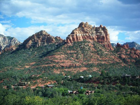 The Orchards Inn of Sedona: View from Balcony