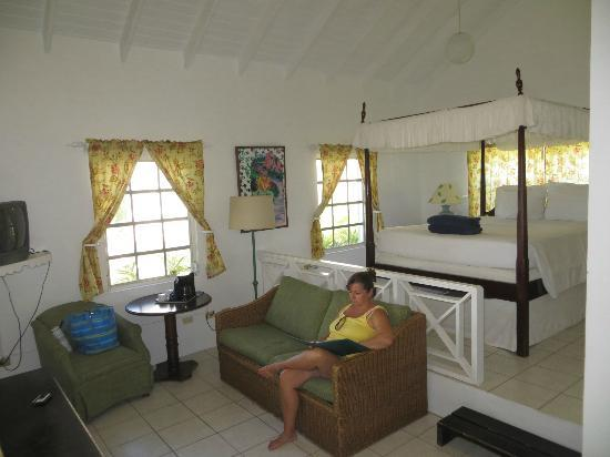 Oualie Beach Resort: Great little cottage on the beach.