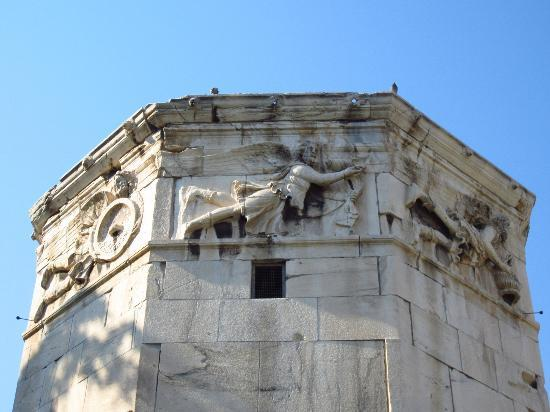 Tower of the Winds frieze - Picture of Roman Agora (Forum ...