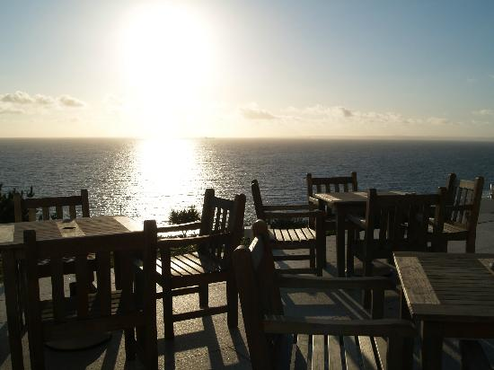 Polurrian Bay Hotel: View from terrace