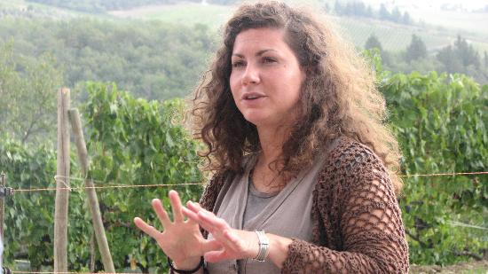 Tuscan Wine Tours: The second winery guide was awesome, too!