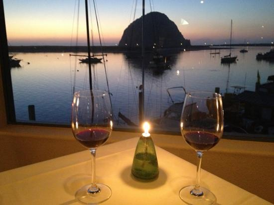 Estero Inn: romantic dinner at Windows