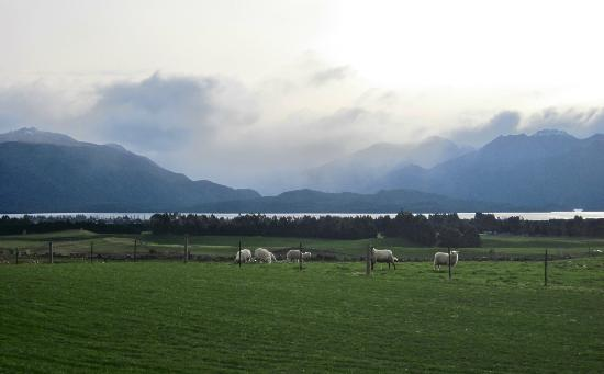 Dusky Ridges - Te Anau farmstay Bed and Breakfast: spectacular view