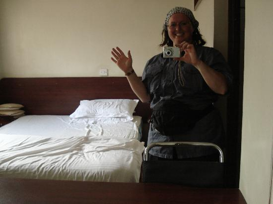 Hotel Central Park Nairobi: Hello from the room!