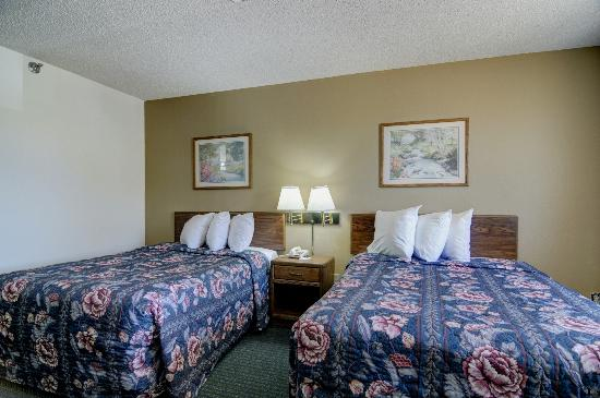 Quality Inn Kewanee: Double Bed