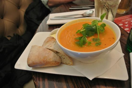 Starter Soup - Picture of The Living Room, Edinburgh - TripAdvisor
