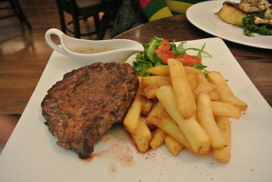 Outstanding Main Rib Eye Steak - Picture of The Living Room, Edinburgh  550 x 368 · 27 kB · jpeg