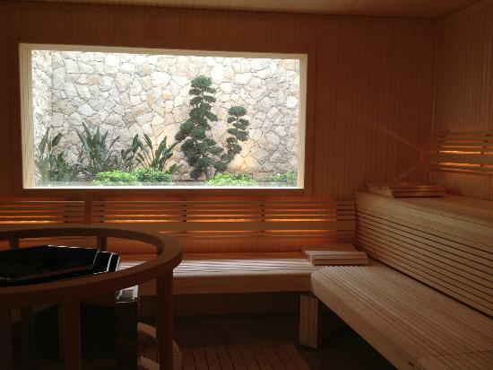 Conrad Algarve: Sauna with a view.....