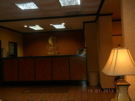 Comfort Inn & Suites LAX Airport: Front desk