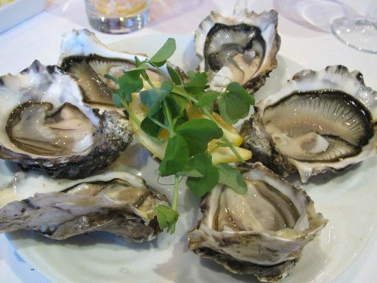 Port Appin, UK: oysters