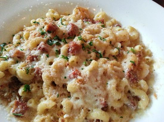 Shrimp andouille mac cheese for Mac s fish and chips